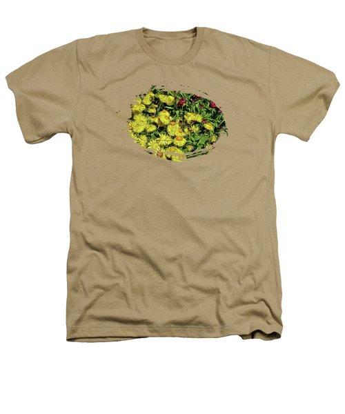 Smiling Daisies Heathers T-Shirt by Thom Zehrfeld