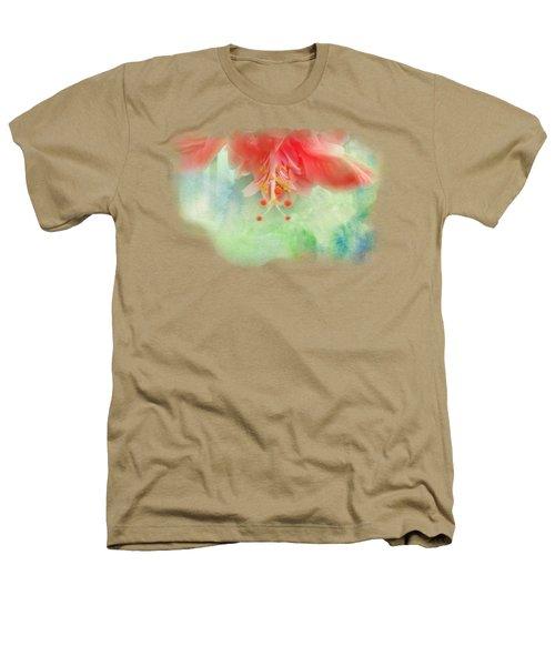 Softly Colored 1 Heathers T-Shirt by Judy Hall-Folde