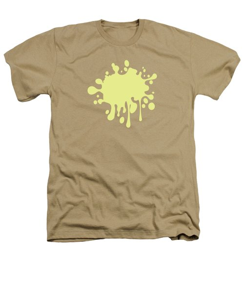 Solid Yellow Pastel Color Heathers T-Shirt by Garaga Designs