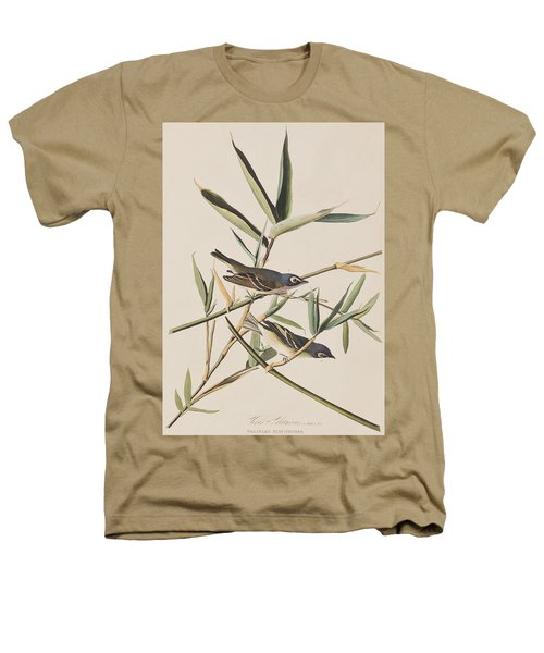 Solitary Flycatcher Or Vireo Heathers T-Shirt by John James Audubon