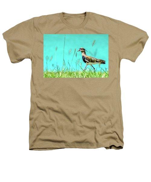 Southern Lapwing Heathers T-Shirt by Randy Scherkenbach