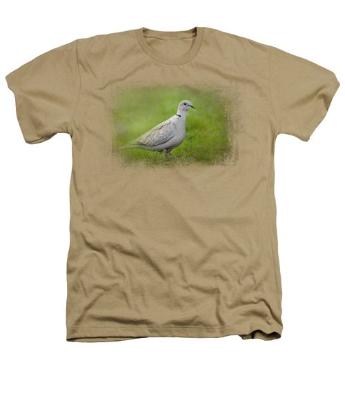 Spring Dove Heathers T-Shirt by Jai Johnson