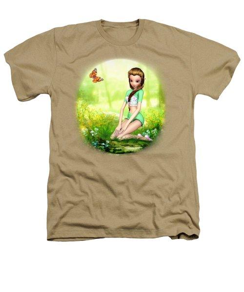 Springtime Pretties Heathers T-Shirt by Brandy Thomas