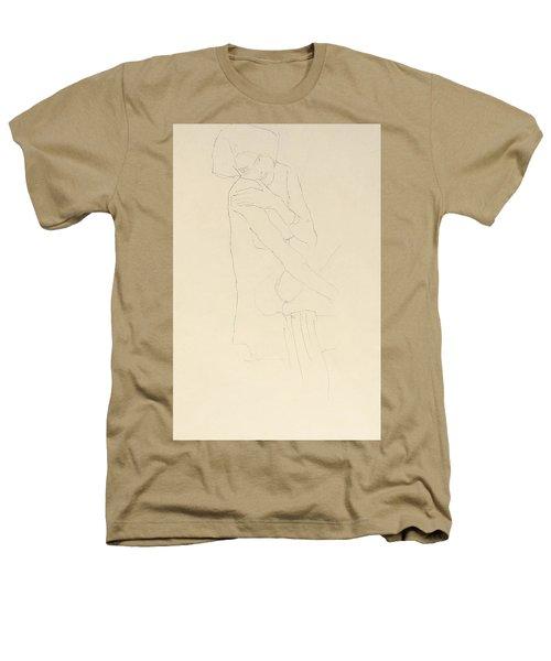 Study For Adele Bloch Bauer II Heathers T-Shirt by Gustav Klimt