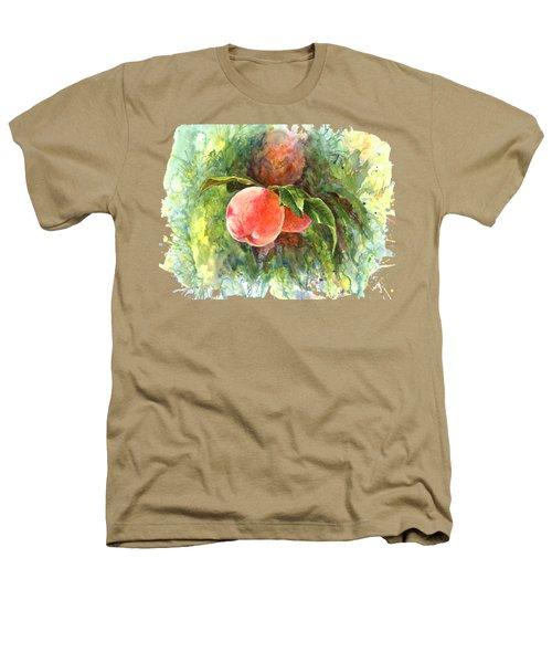Sunny Peaches Heathers T-Shirt by Irina Viatkina