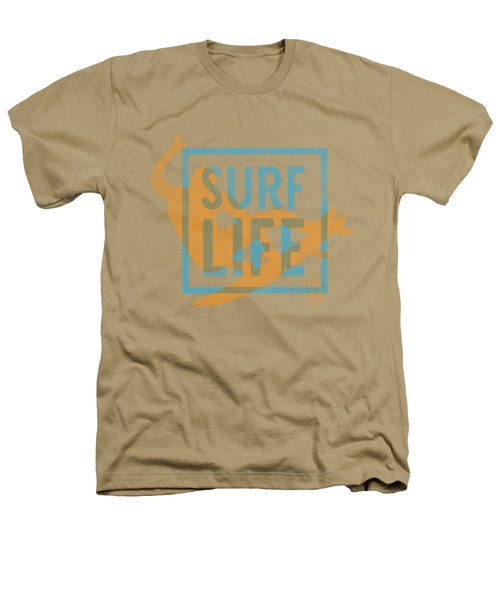 Surf Life 1 Heathers T-Shirt by SoCal Brand