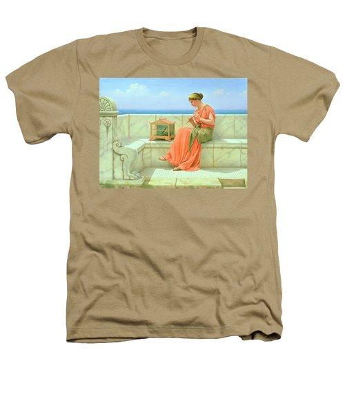 Sweet Sounds Heathers T-Shirt by John William Godward