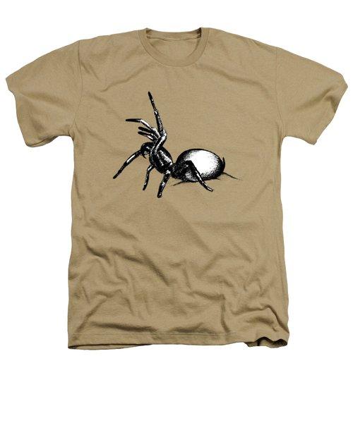 Sydney Funnel Web Heathers T-Shirt by Nicholas Ely