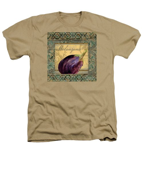Tavolo, Italian Table, Eggplant Heathers T-Shirt by Mindy Sommers
