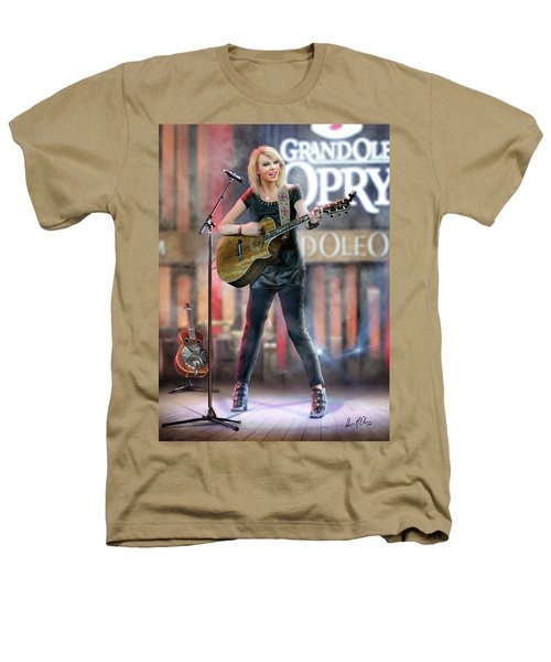 Taylor At The Opry Heathers T-Shirt by Don Olea