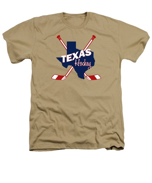 Texas State Hockey Heathers T-Shirt by Summer Myers