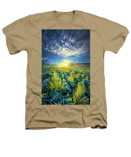 That Voices Never Shared Heathers T-Shirt by Phil Koch