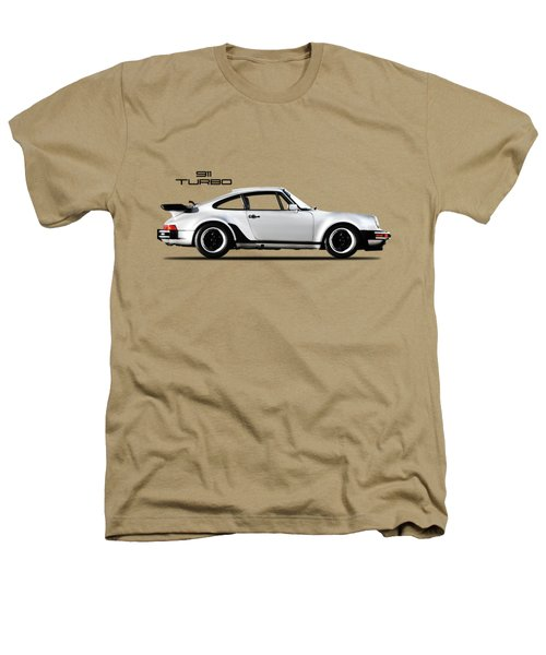 The 911 Turbo 1984 Heathers T-Shirt by Mark Rogan