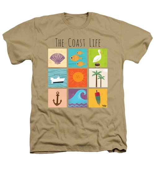 The Coast Life Heathers T-Shirt by Kevin Putman