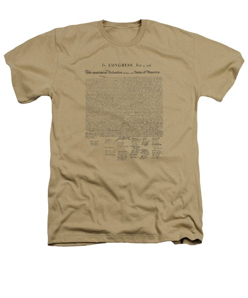 The Declaration Of Independence Heathers T-Shirt by War Is Hell Store