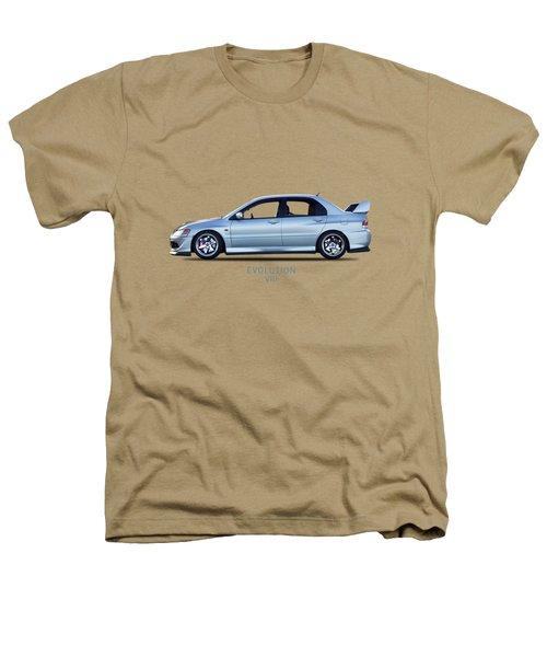 The Lancer Evolution Viii Heathers T-Shirt by Mark Rogan