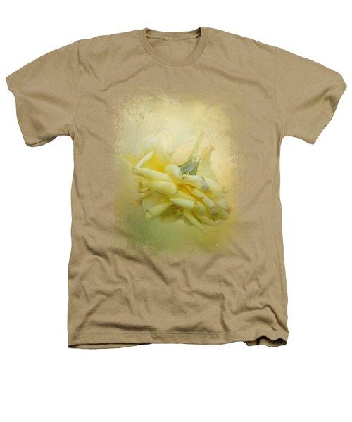 The Last Yellow Rose Heathers T-Shirt by Jai Johnson