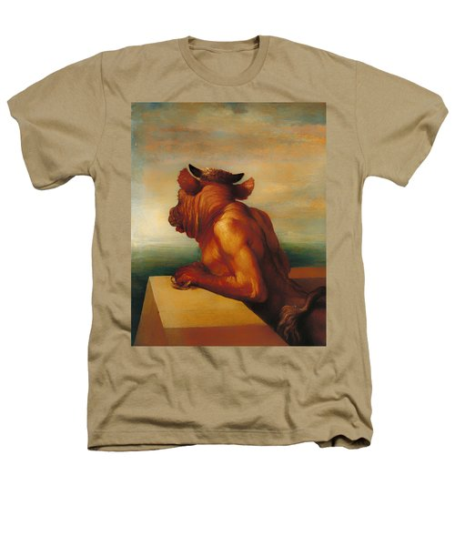 The Minotaur  Heathers T-Shirt by Mountain Dreams