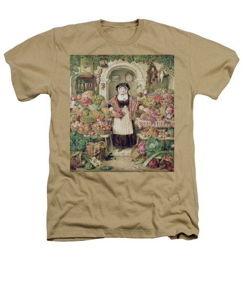 The Vegetable Stall  Heathers T-Shirt by Thomas Frank Heaphy