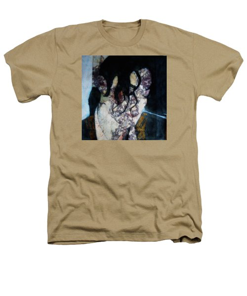 The Way You Make Me Feel Heathers T-Shirt by Paul Lovering