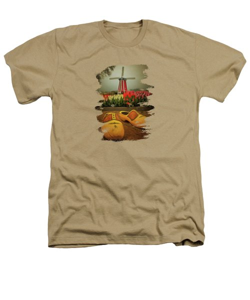 The Yellow Wooden Shoes Heathers T-Shirt by Thom Zehrfeld