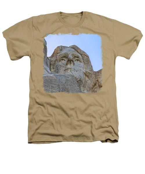 Thomas Jefferson 3 Heathers T-Shirt by John M Bailey