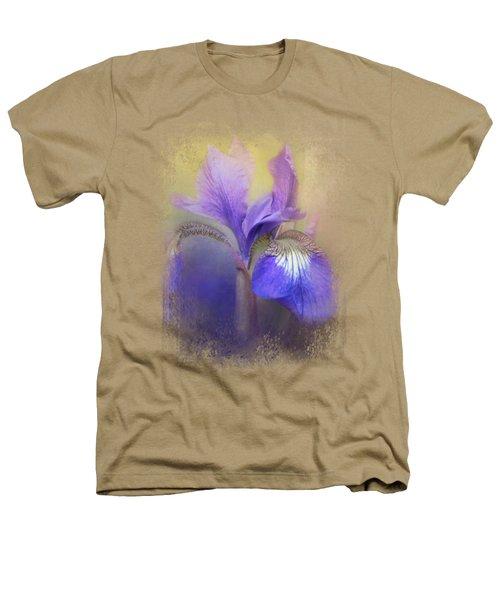 Tiny Iris Heathers T-Shirt by Jai Johnson