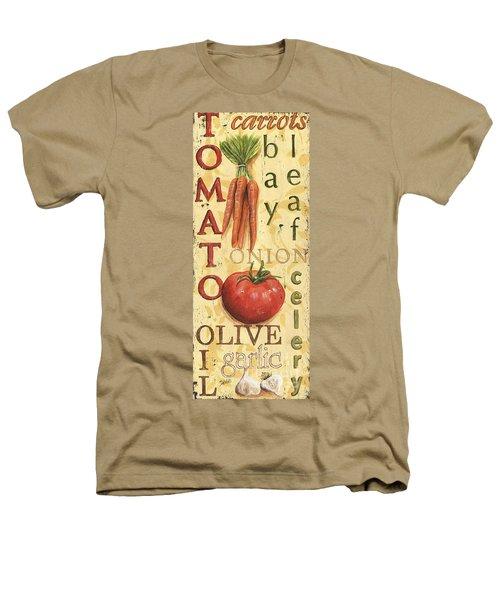 Tomato Soup Heathers T-Shirt by Debbie DeWitt