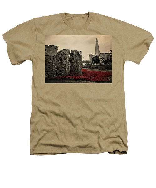 Tower Of London Heathers T-Shirt by Martin Newman