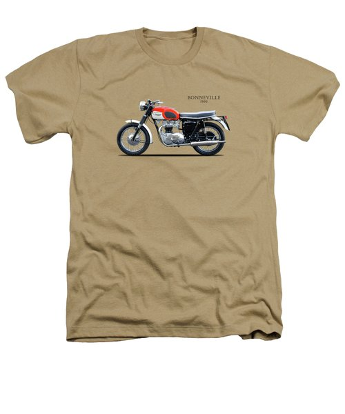 Triumph Bonneville 1966 Heathers T-Shirt by Mark Rogan