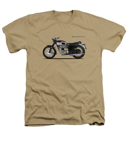 Triumph Bonneville 1968 Heathers T-Shirt by Mark Rogan
