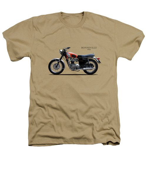 Triumph Bonneville 1969 Heathers T-Shirt by Mark Rogan