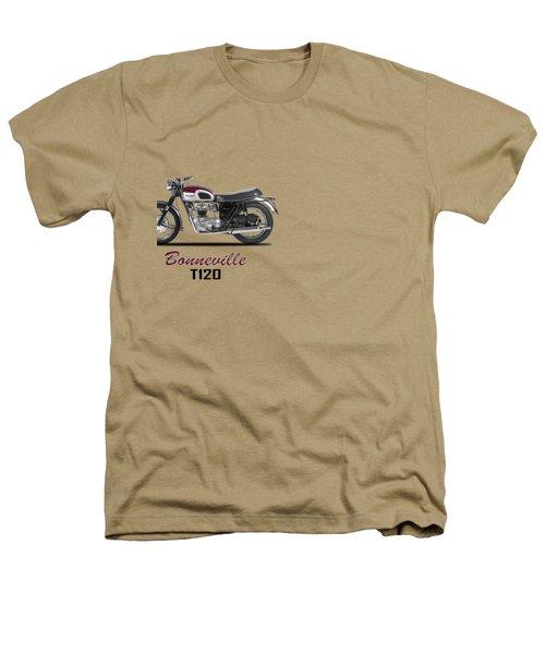Triumph Bonneville T120 1968 Heathers T-Shirt by Mark Rogan