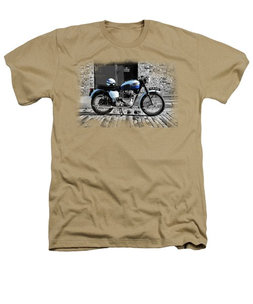 Triumph Bonneville T120 Heathers T-Shirt by Mark Rogan