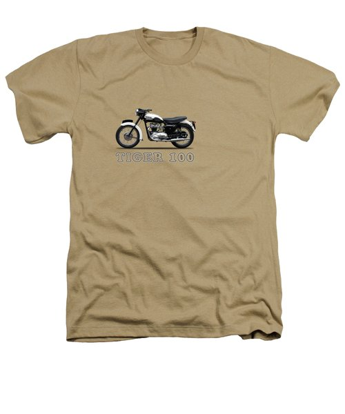 Triumph Tiger 110 1959 Heathers T-Shirt by Mark Rogan