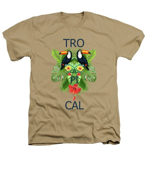 Tropical Summer  Heathers T-Shirt by Mark Ashkenazi