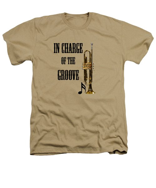 Trumpets In Charge Of The Groove 5536.02 Heathers T-Shirt by M K  Miller