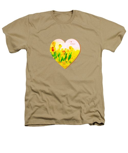 Tulips In Springtime-floral Painting By V.kelly Heathers T-Shirt by Valerie Anne Kelly