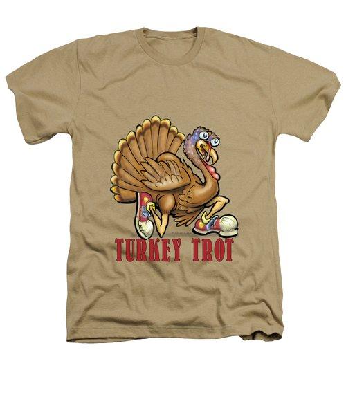 Turkey Trot Heathers T-Shirt by Kevin Middleton