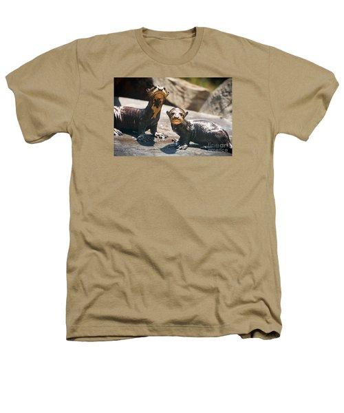 Twins Heathers T-Shirt by Jamie Pham