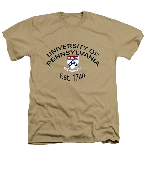 University Of Pennsylvania Est 1740 Heathers T-Shirt by Movie Poster Prints