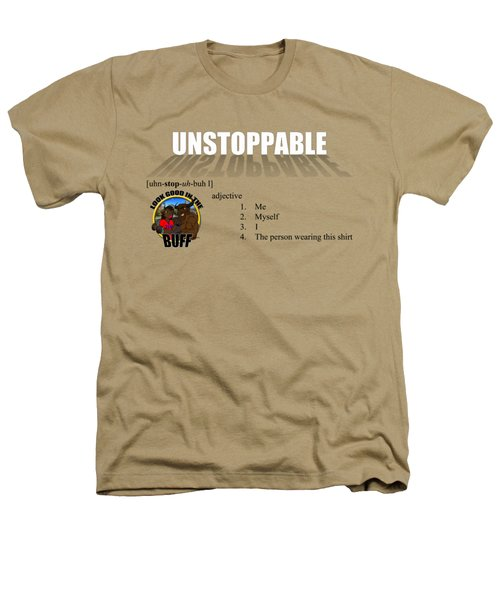Unstoppable V1 Heathers T-Shirt by Michael Frank Jr