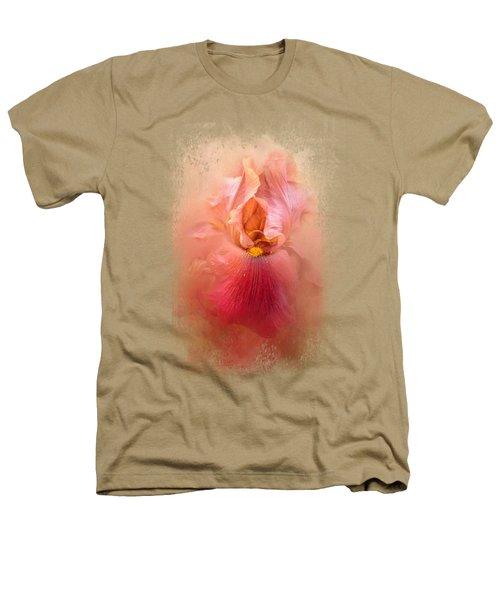 Valentine Iris Heathers T-Shirt by Jai Johnson