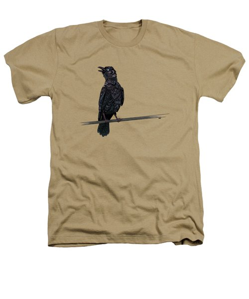 Verklempt Crow Heathers T-Shirt by ZH Field