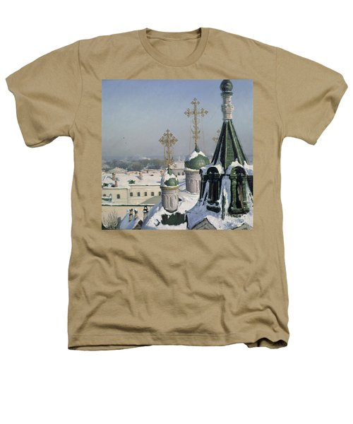 View From A Window Of The Moscow School Of Painting Heathers T-Shirt by Sergei Ivanovich Svetoslavsky