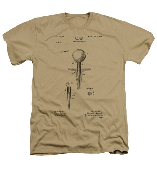Vintage 1899 Golf Tee Patent Artwork Heathers T-Shirt by Nikki Marie Smith