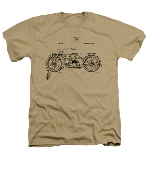 Vintage Harley-davidson Motorcycle 1919 Patent Artwork Heathers T-Shirt by Nikki Smith