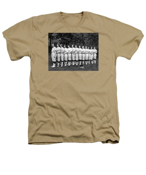 Vintage Photo Of Women's Baseball Team Heathers T-Shirt by American School