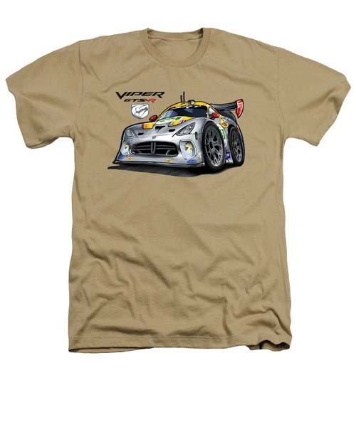 Viper Gts-r Car-toon Heathers T-Shirt by Steven Dahlen