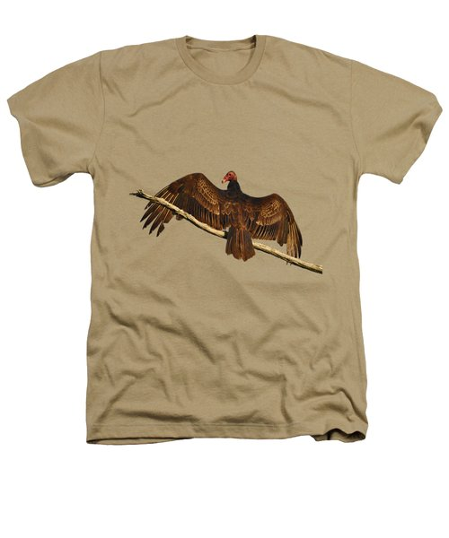 Vivid Vulture .png Heathers T-Shirt by Al Powell Photography USA